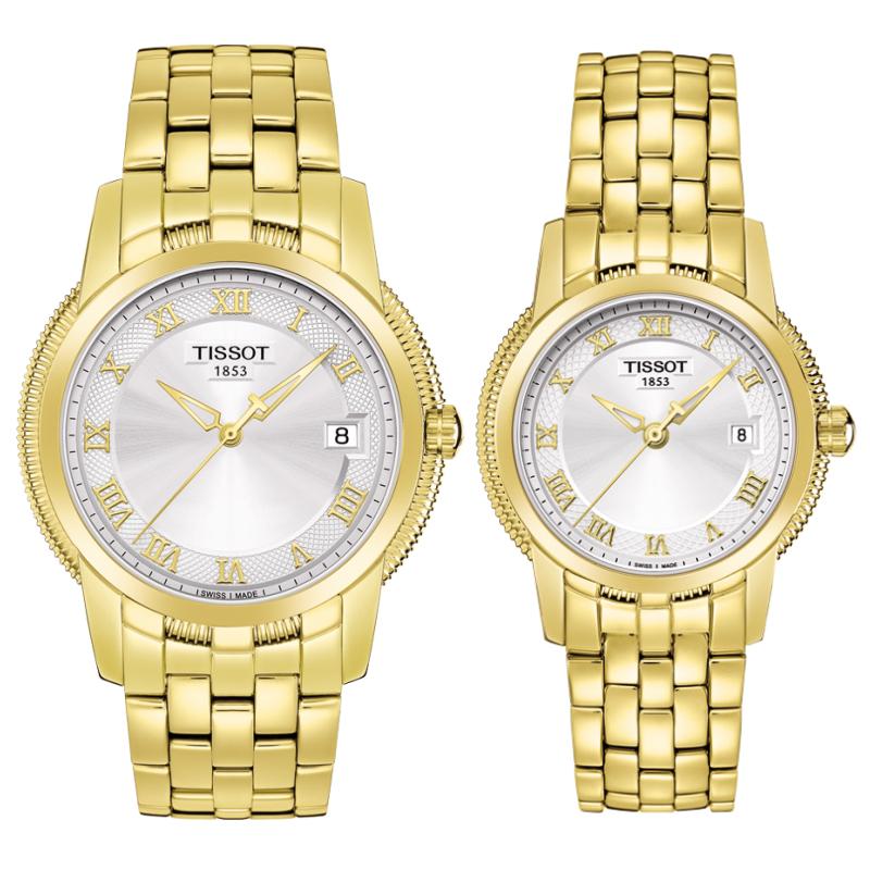 Đồng hồ đôi Tissot 1853 T031.410.33.033.00 và T031.210.33.033.00