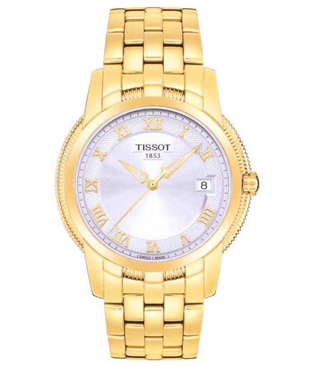 Đồng hồ nam Tissot Automatic 1853 T031.410.33.033.00 mạ vàng bề mặt.