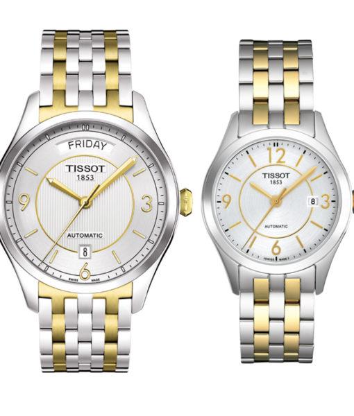 Đồng hồ đôi Tissot 1853 T038.430.22.037.00 và T038.207.22.037.00