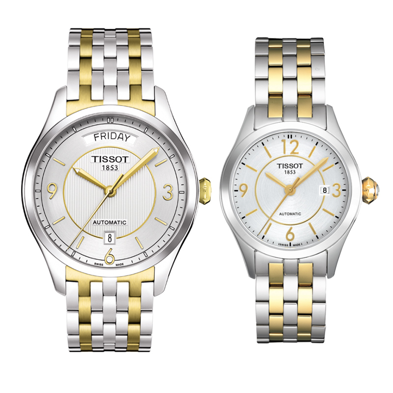 Đồng hồ đôi Tissot 1853 T038.430.22.037.00 và T038.007.22.037.00