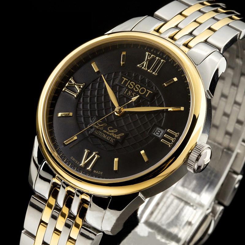 Đồng hồ tissot nam12bl0447271 đen lịch lãm