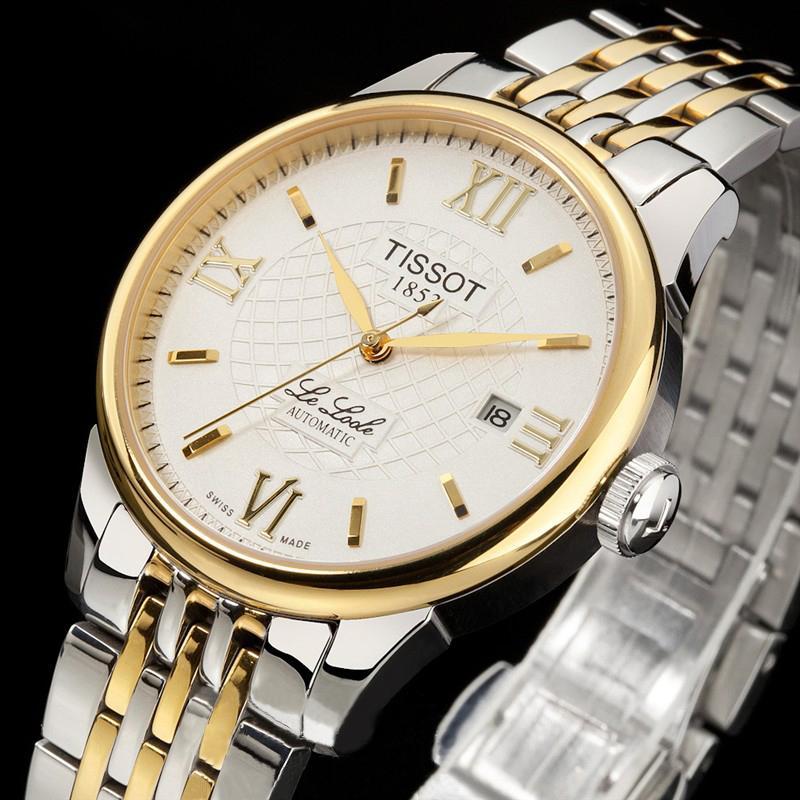 Đồng hồ Tissot 1853 Automatic 12BL0447271 Le Locle mặt trắng