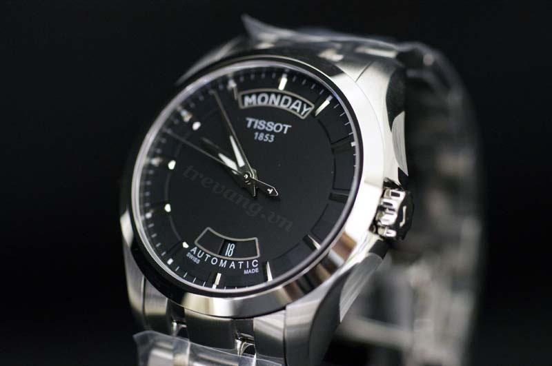 Đồng hồ nam chính hãng Tissot T035.407.11.051.00 Sapphia.