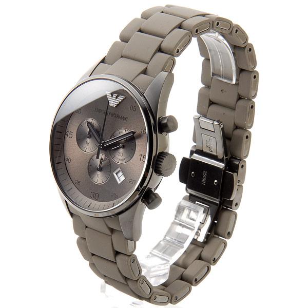Đồng hồ nam Armani AR5950 dây đeo xám vàng.