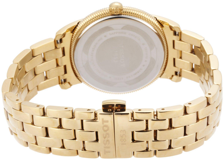 Đồng hồ Tissot T031.410.33.033.00 màu vàng.