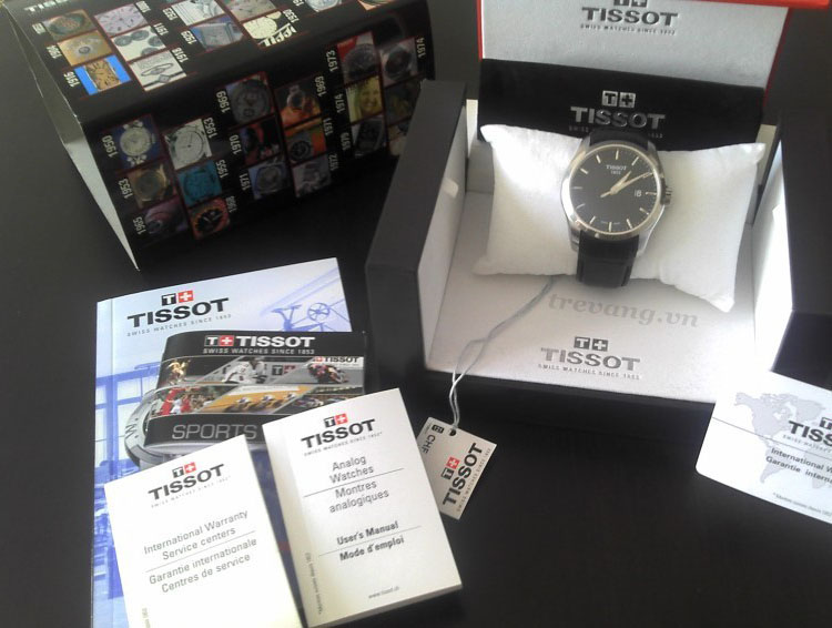 Đồng hồ Tissot T035-410-16-051-00 set full box