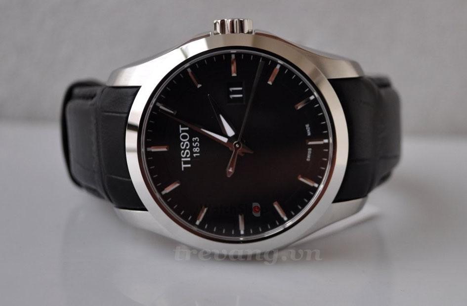 Đồng hồ Tissot T035-410-16-051-00 mặt sapphia đen đẳng cấp.