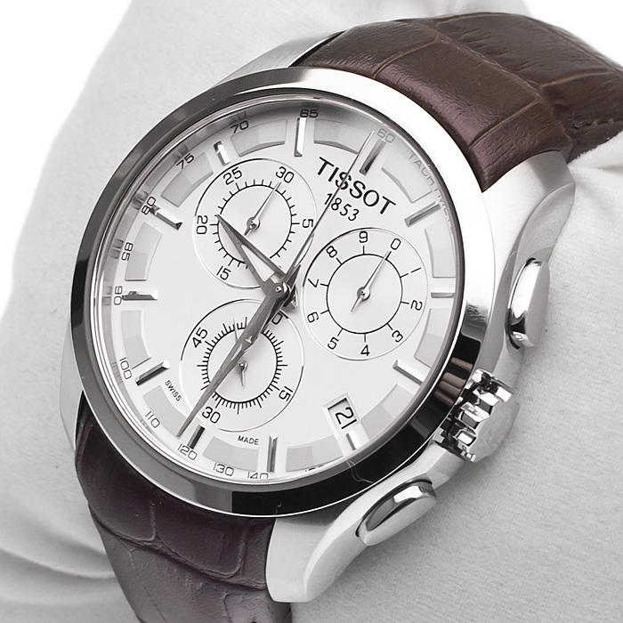 Đồng hồ Tissot nam 1853 T035.617.16.031.00 gồm 3 nút điều chỉnh