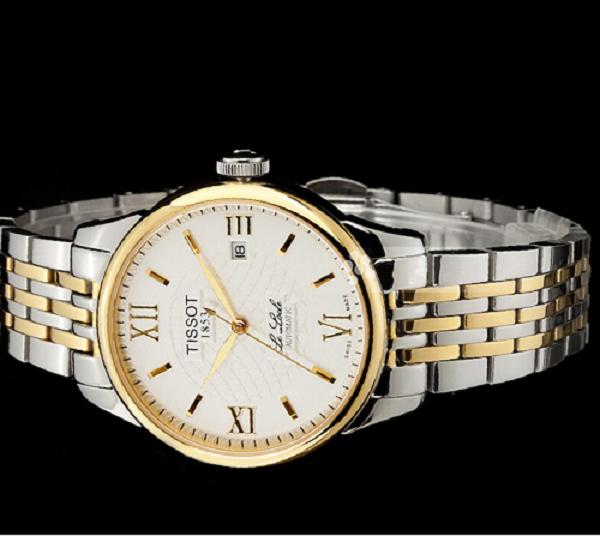 Đồng hồ tissot nam12bl0447271 while lịch lãm