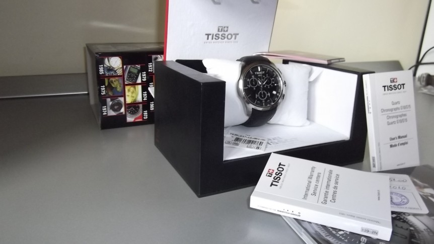 Đồng hồ nam Tissot 1853 T035.617.16.051.00 set full box.