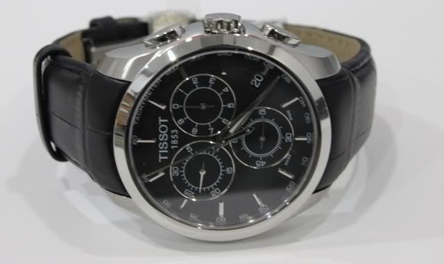 Đồng hồ nam Tissot 1853 T035.617.16.051.00 mặt trước.