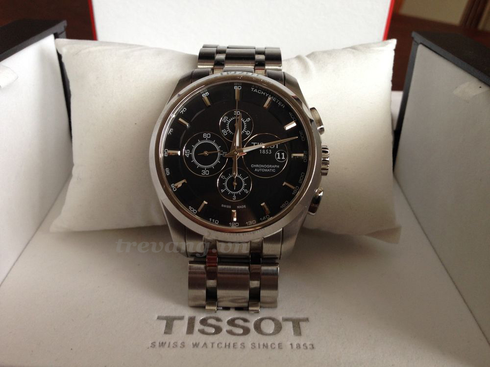 Đồng hồ cơ nam Tissot 1853 T035.627.11.051.00 và box.