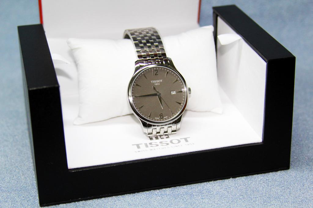 Đồng hồ nam Tissot 1853 T063.610.11.067.00 box.