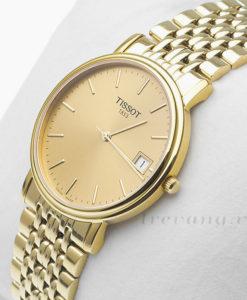 Đồng hồ nam Tissot 1853 T52.5.481.21 mạ vàng 18k
