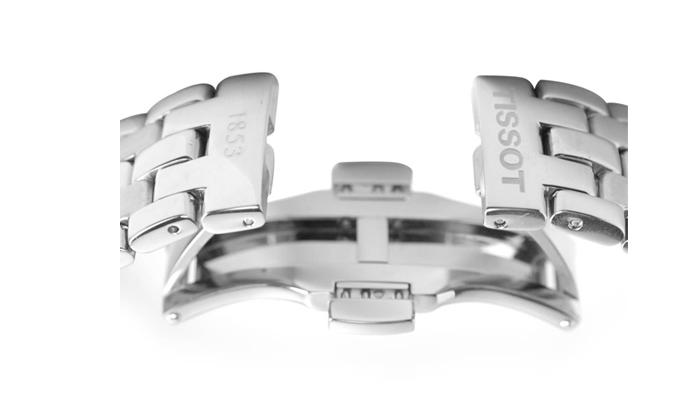 Đồng hồ nam Tissot 1853 T063.610.11.037.00 chốt gập
