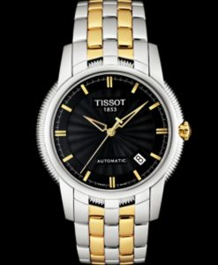 Đồng hồ cơ nam Tissot 1853 T97.2.483.51 Automatic vàng đen.