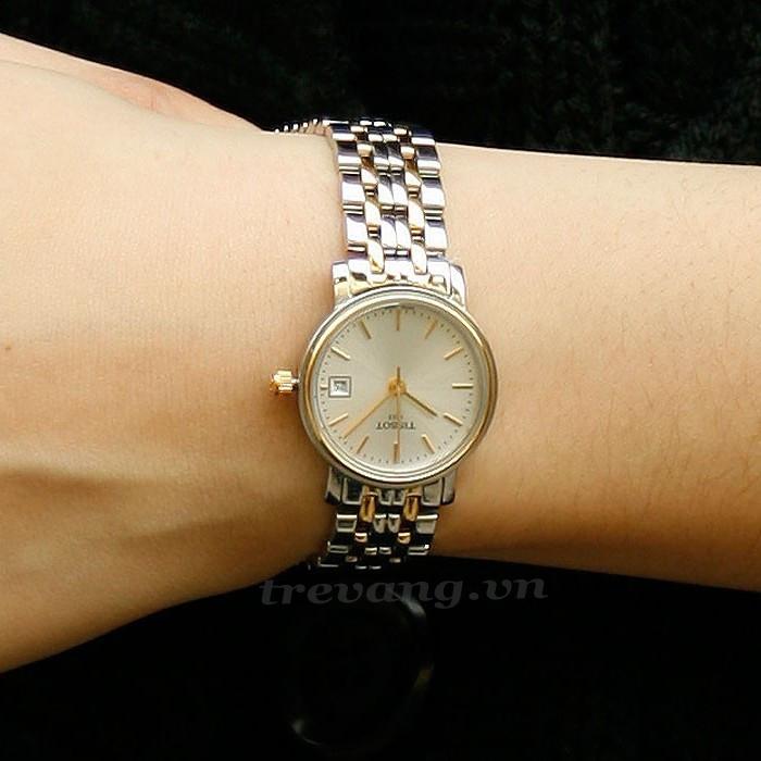 Đồng hồ Tissot nữ 1853 T52.2.281.31 Sành điệu mọi góc nhìn