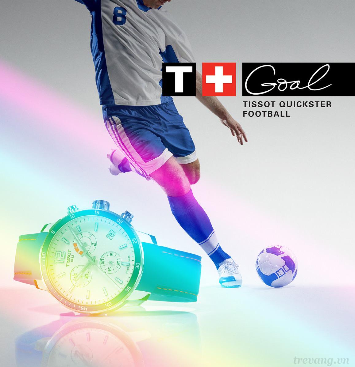 Đồng hồ Tissot-phụ kiện thể hiện người đàn ông đích thực
