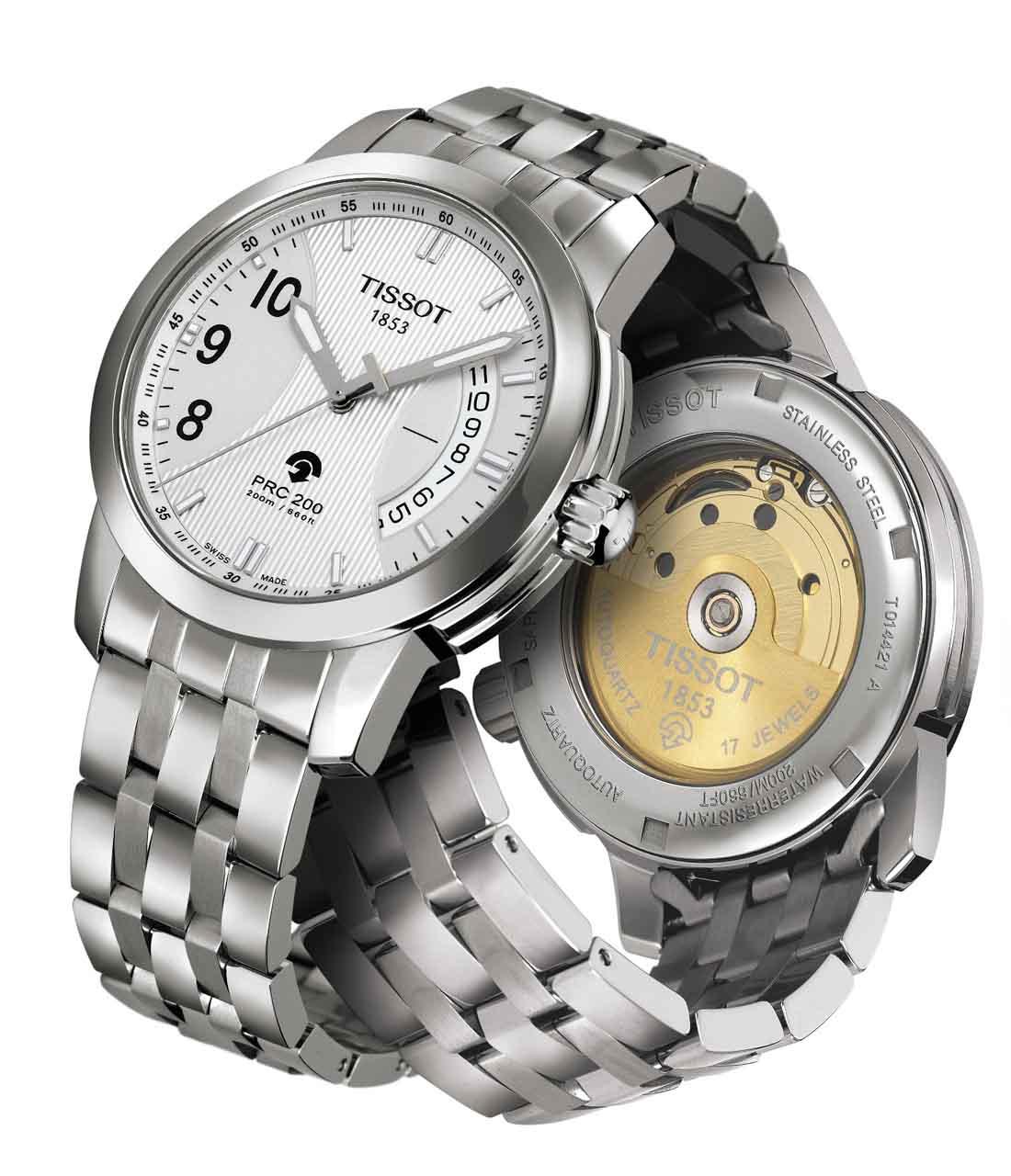 Đồng hồ Tissot 1853 T014.421.11.037.00 mặt kính chống xước cao