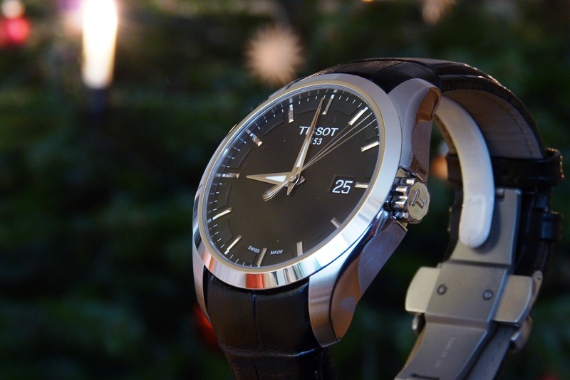 Đồng hồ Tissot 1853 T035.410.16.051.00 dây da đen