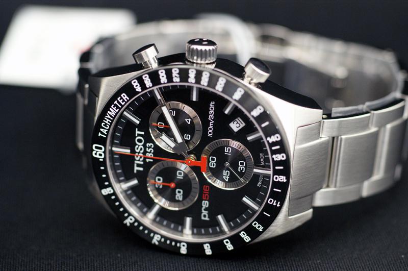 Đồng hồ Tissot 1853 cơ T044.417.21.041.00 T-sport mặt đá sapphia đen.