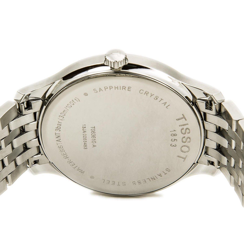 Đồng hồ Tissot 1853 T063.610.11.067.00 mặt sau đồng hồ