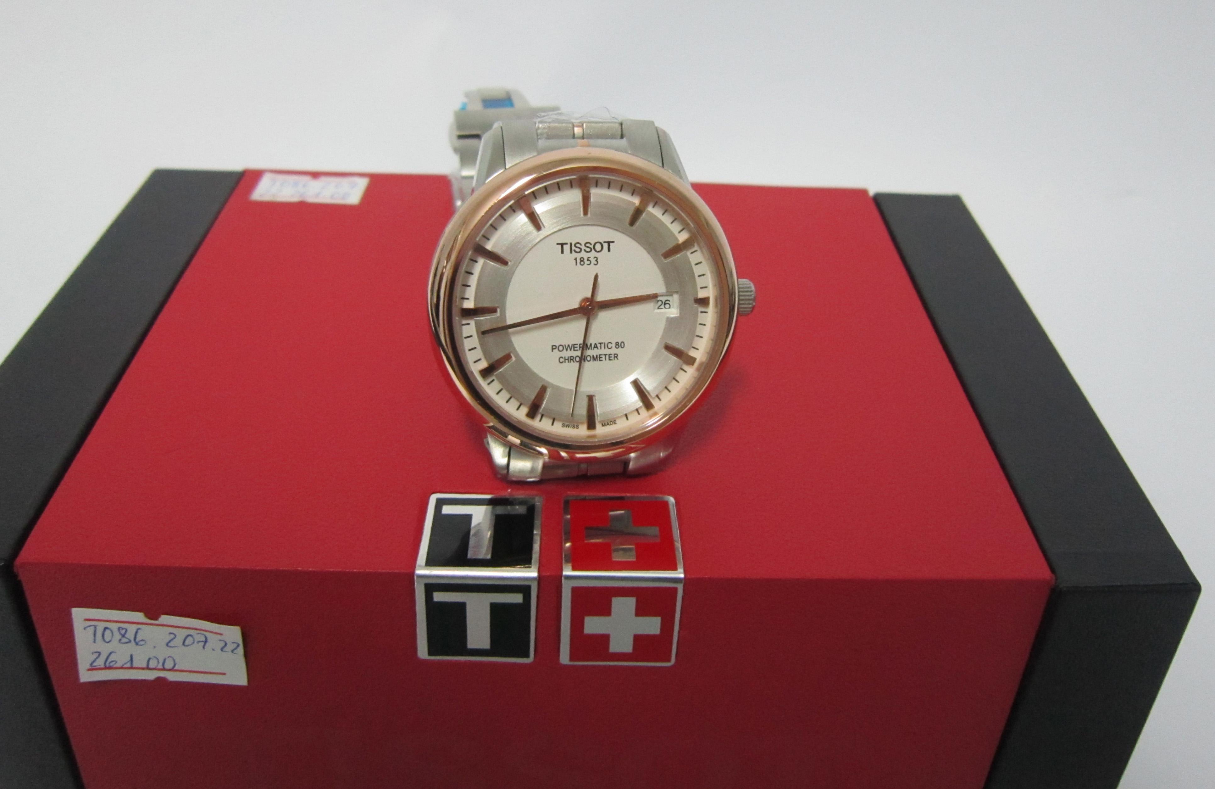 Đồng hồ nam Tissot 1853 T086.207.22.261.00 sành điệu mọi góc cạnh