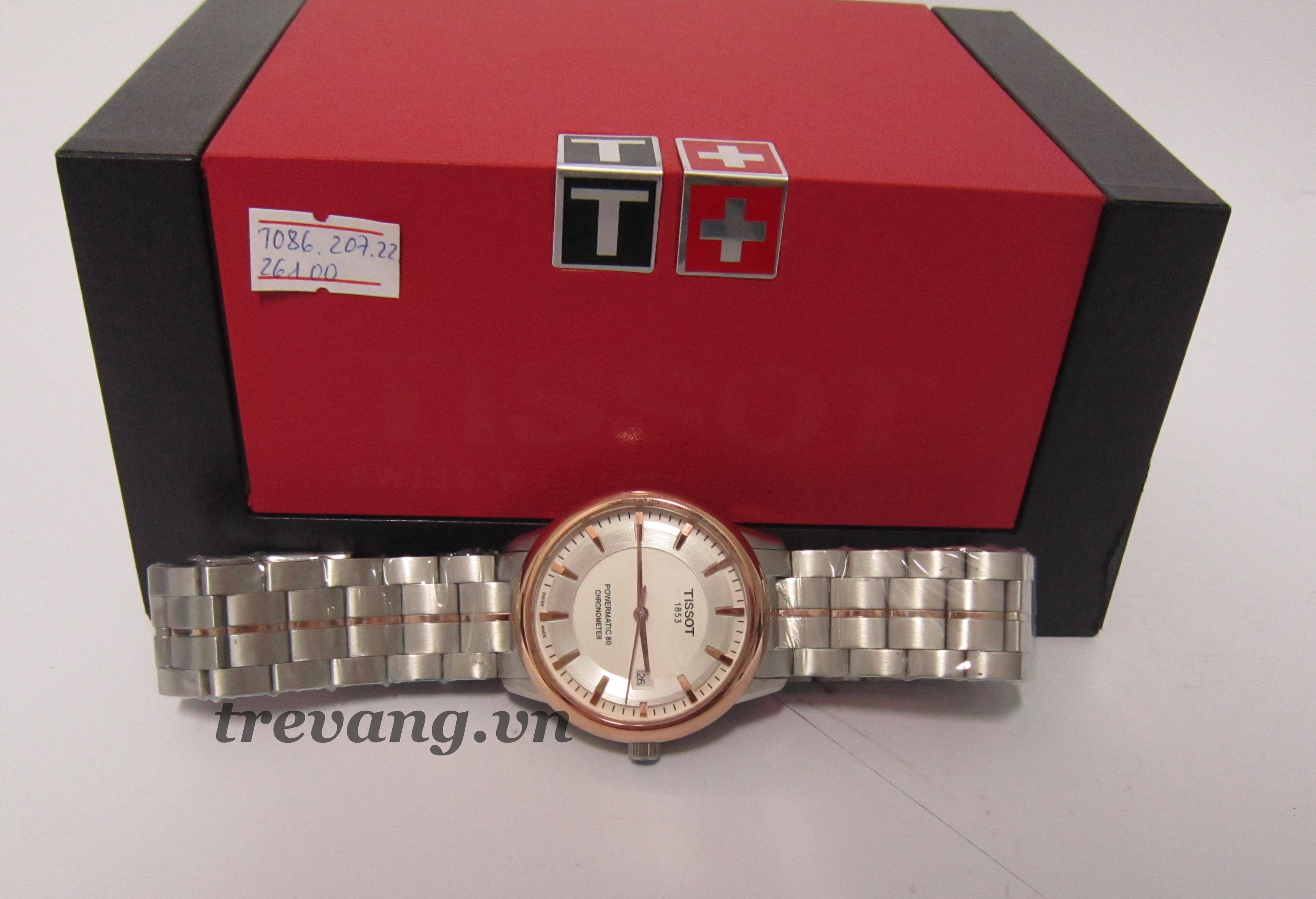 Đồng hồ nam Tissot 1853 T086.207.22.261.00 thu tút mọi góc cạnh