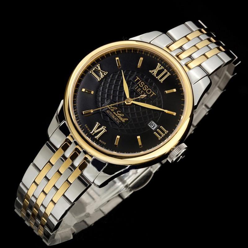 Đồng hồ nam Tissot 1853 12BL044727 Black