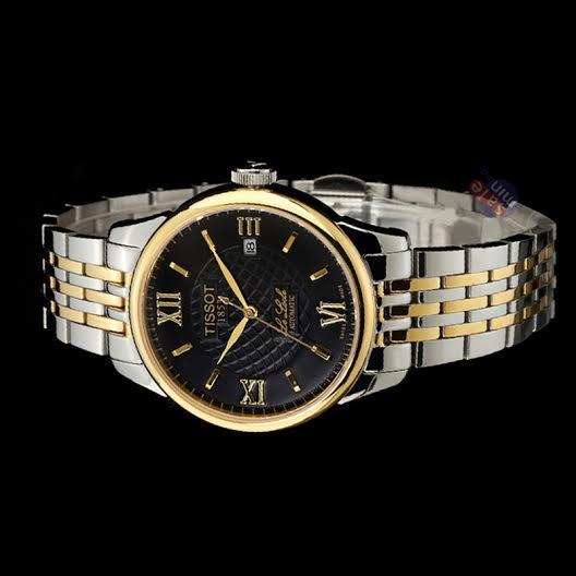 Đồng hồ nam Tissot 1853 12BL044727 Black lịch lãm cổ điển