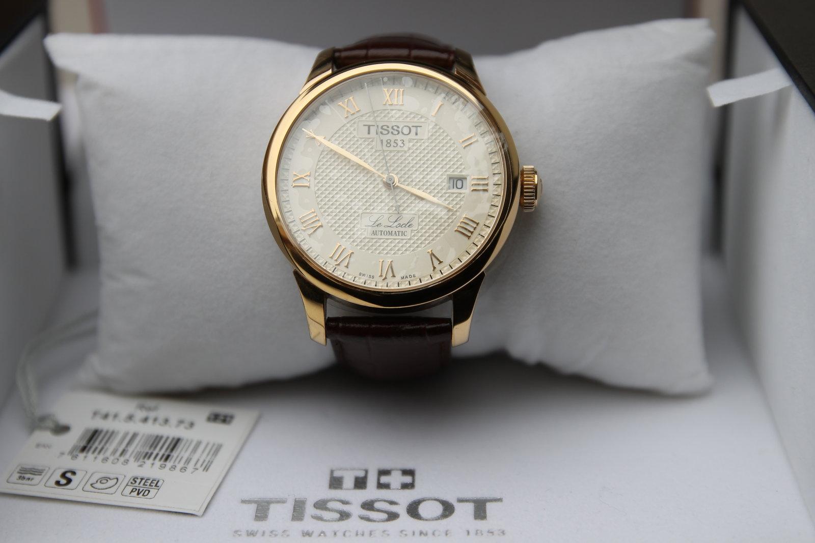 Đồng hồ nam Tissot 1853 T41.5.413.73 Automatic tại show room đồng hồ Tre Vàng