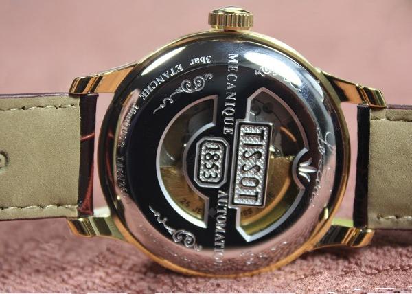 Mặt lưng Đồng hồ nam Tissot 1853 T41.5.413.73 Le Locle