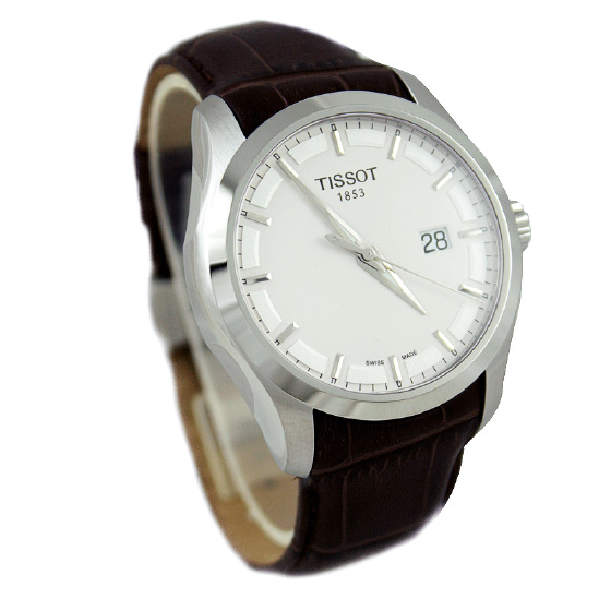 Đồng hồ nam Tissot 1853 T035.410.16.031.00 dây đeo da thuộc mềm.