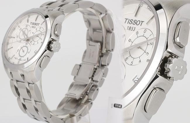 Đồng hồ Tissot 1853 Nam T035.617.11.031.00 chốt điều chỉnh
