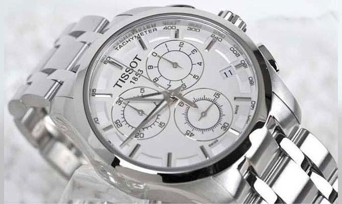 Đồng hồ Tissot Nam T035.617.11.031.00mặt kính chống xước