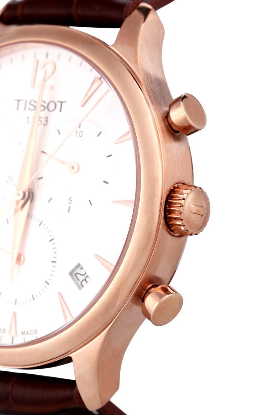 Đồng hồ Tissot T063.617.36.037.00 có 3 chốt