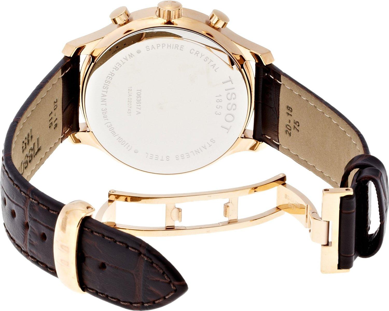 Đồng hồ Tissot T063.617.36.037.00 mặt sau
