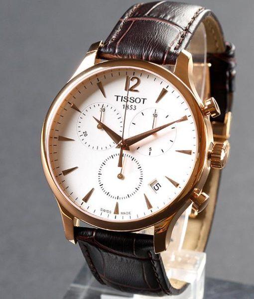 Đồng hồ tissot 1853 dây da đang phân phối tại trevang.vn
