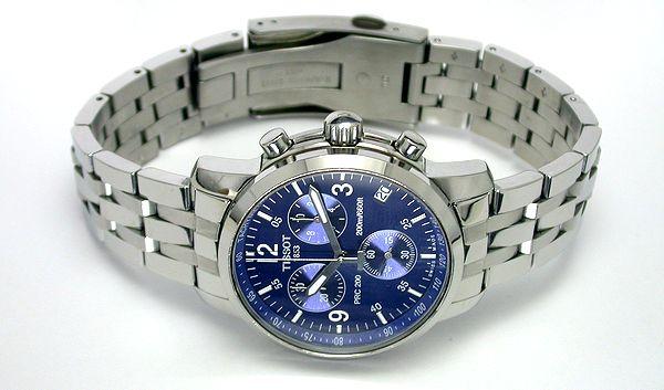 Đồng hồ Tissot nam T17.1.586.42 thép cao cấp