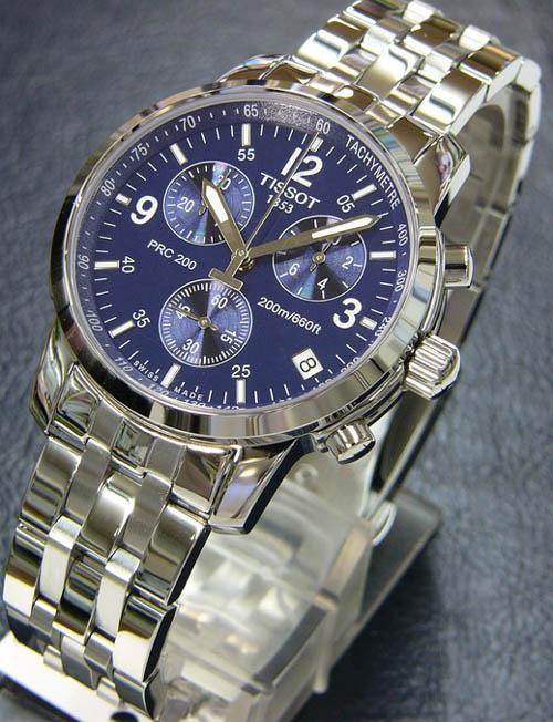 Đồng hồ Tissot nam T17.1.586.42 3 sang trọng