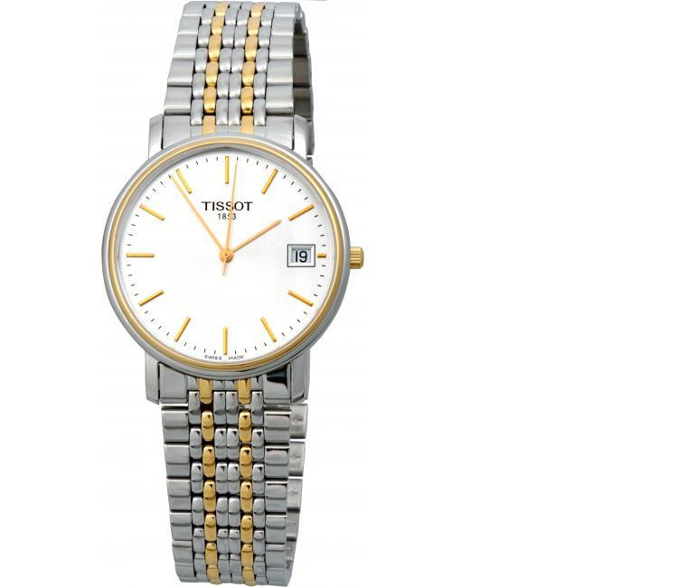 đồng hồ Tissot 1853 T52.2.481.31 thiết kế mỏng dơn giản