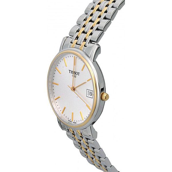đồng hồ Tissot 1853 T52.2.481.31 thiết kế mỏng nhẹ