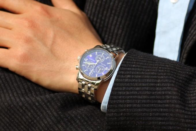 Đồng hồ Tissot nam T17.1.586.42 mặt đồng hồ sáng mạnh mẽ