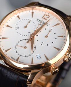 Đồng hồ Tissot T063.617.36.037.00 mặt kính sapphire chống xước