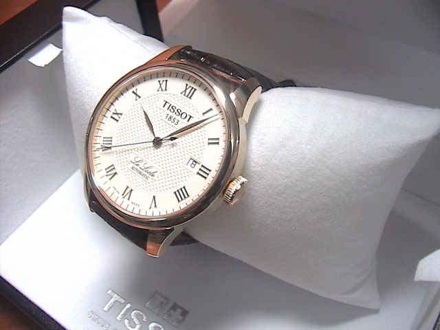 Mặt trước đồng hồ nam Tissot 1853 T41.5.413.73 Le Locle Automatic
