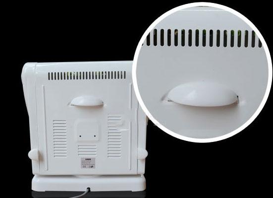 Quạt sưởi Lion Q5A 2 chế độ sưởi