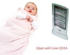 Sản phẩm quạt sưởi ấm Lion Q10A