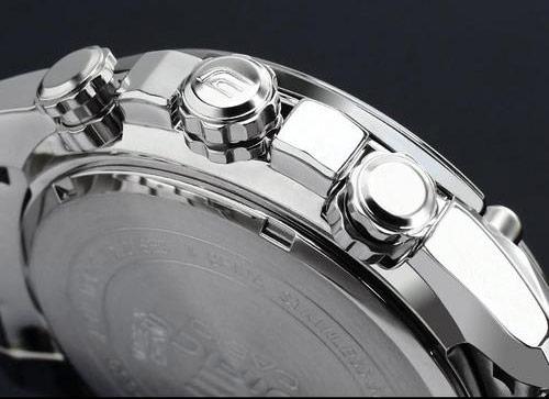3 núm chỉnh giờ đồng hồ nam Casio EF-550D-7A