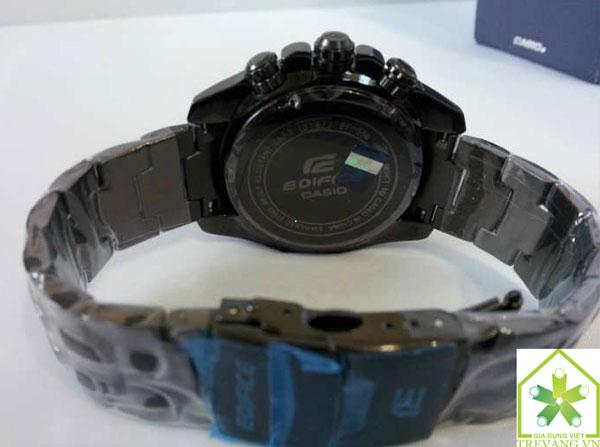 Bề mặt lưng Đồng hồ nam Casio EF-550BG-1A