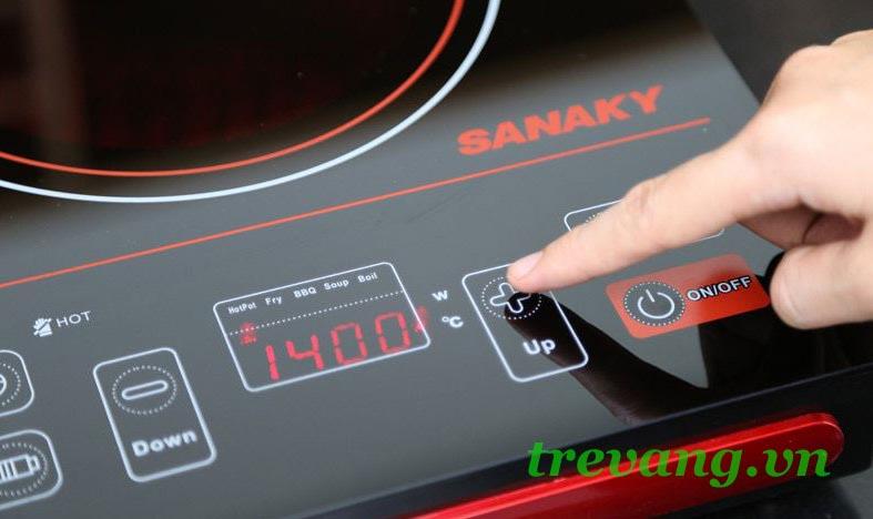 Bếp điện hồng ngoại Sanaky AT-2101 HG chức năng tự ngắt an toàn